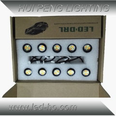 10PCS LED Eagle Eye Kit Turning+Brake