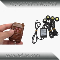4PCS LED Eagle Eye Kit
