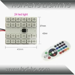 24smd 5050 RGB Panel LED with controller