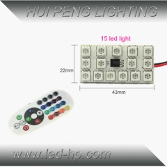 15smd 5050 RGB Panel LED with controller