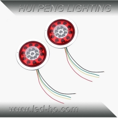 19leds Dual Color Trailer Tail Light