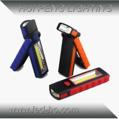 3W COB Emergency Flashlight With Hook