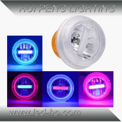 20W/10W SMD Motorcycle Headlight Colorful