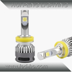 Newest CREE XHP-70 Chip 60W Car LED Headlight With Fan